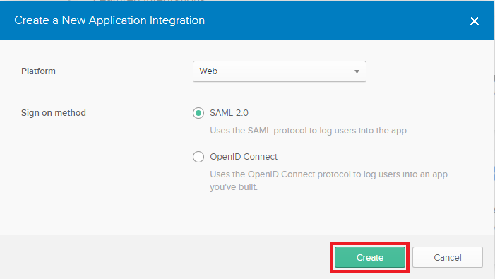 CANCHITO-DEV: Okta developer application integration web SAML2
